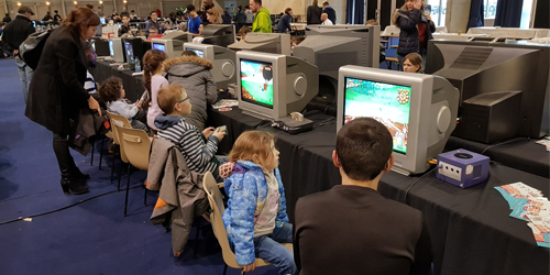 Retrogaming avec l'association Geek Unchained
