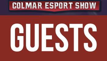 Guests Colmar Esport Show