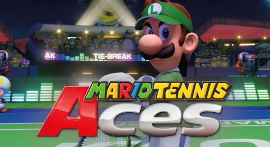 Tournoi console Mario Tennis Aces
