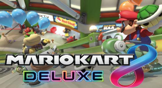 Tournoi console Mariokart 8 Deluxe